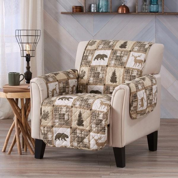 Sofa Saver Lodge Reversible Printed Chair Furniture Protector