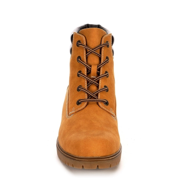 Boot Shoes, Camel - On Sale - Overstock