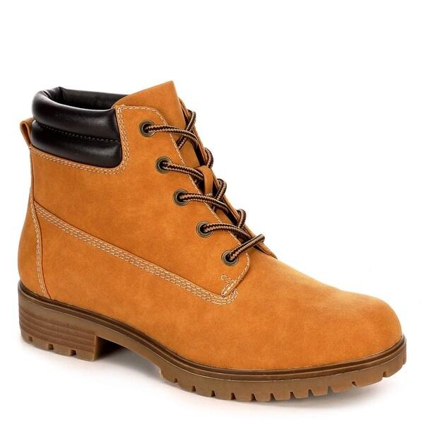 Limelight Womens Brett Faux Leather