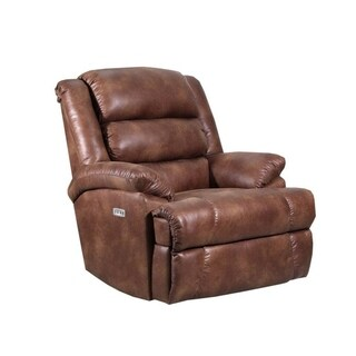 Godiva Power Heat & Massage/Wall Saver Recliner