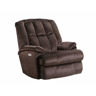 Quincy Power Heat & Massage/Rocker Recliner