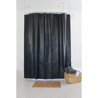 "Splash Home Motto PEVA Shower Curtain, 72"" x 70"""