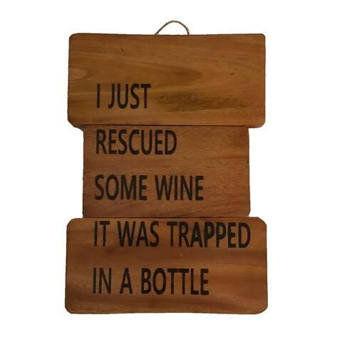 Rescue Wine