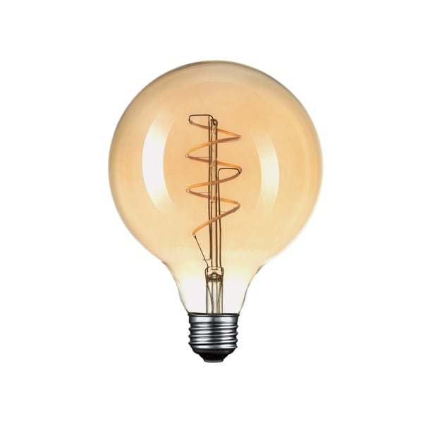 Oversized Round Vintage Style 40W Equivalent Soft White (2200K) Dimmable LED Light Bulb. Opens flyout.