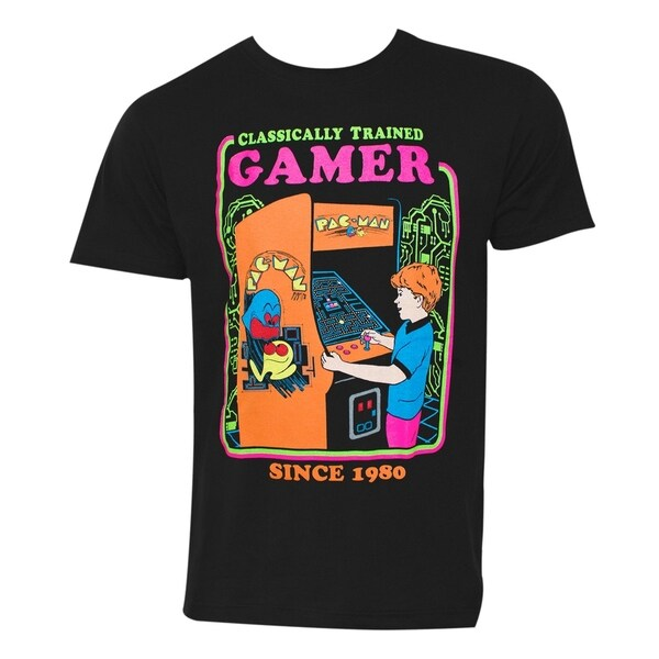 Pac Man Arcade Classically Trained Gamer Tshirt