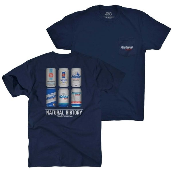 874e7c8dbb491e Shop Natty Light Natural History Rowdy Gentleman Navy Blue Men s ...