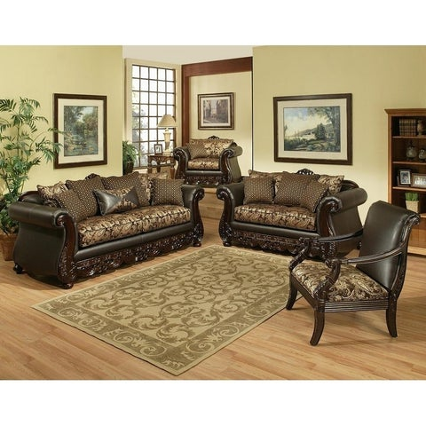 Jupiter 2 Piece Sofa Set by Arely's Furniture Inc.