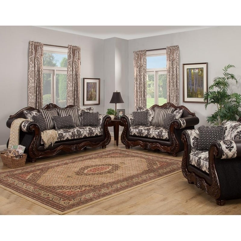 Lexington 3 Piece Sofa Set by Arely\'s Furniture Inc.