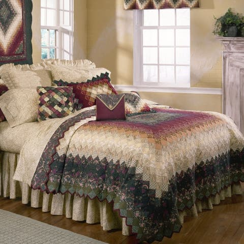 Donna Sharp Spice Trip Around the World Quilt Set