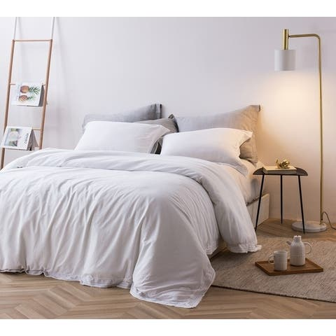 Bom Dia - 300TC Washed Sateen Duvet Cover