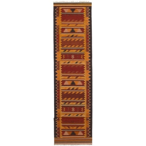 ECARPETGALLERY Flat-weave Kashkoli FW Wool Kilim