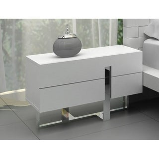 Modrest Voco Modern White Bedroom Nightstand