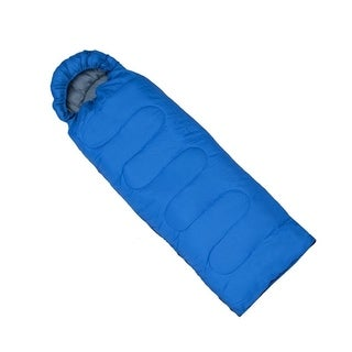 ALEKO Sleeping Bag in Camping Bag Four-seasons Insulation Blue
