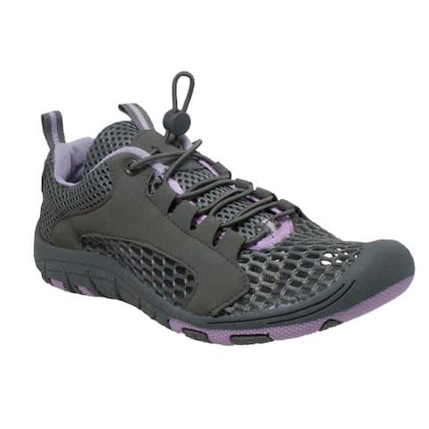 Women's Speed Lace Open Mesh Rocsoc Purple/Grey
