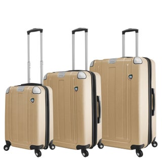 Mia Toro ITALY Accera Hardside Spinner Luggage 3 Piece set