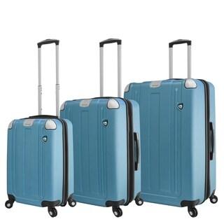 Mia Toro ITALY Accera Hardside Spinner Luggage 3 Piece set