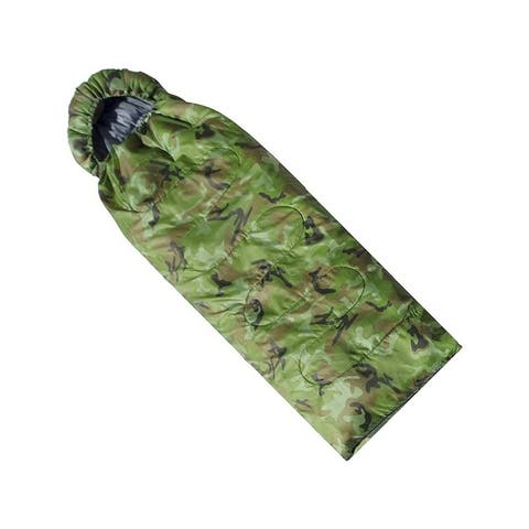 ALEKO Sleeping Bag in Camping Bag Four-seasons Insulation Camouflage