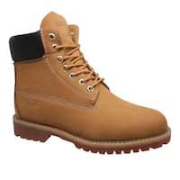 """Men's 6"""" Steel Toe Work Boot Tan"""