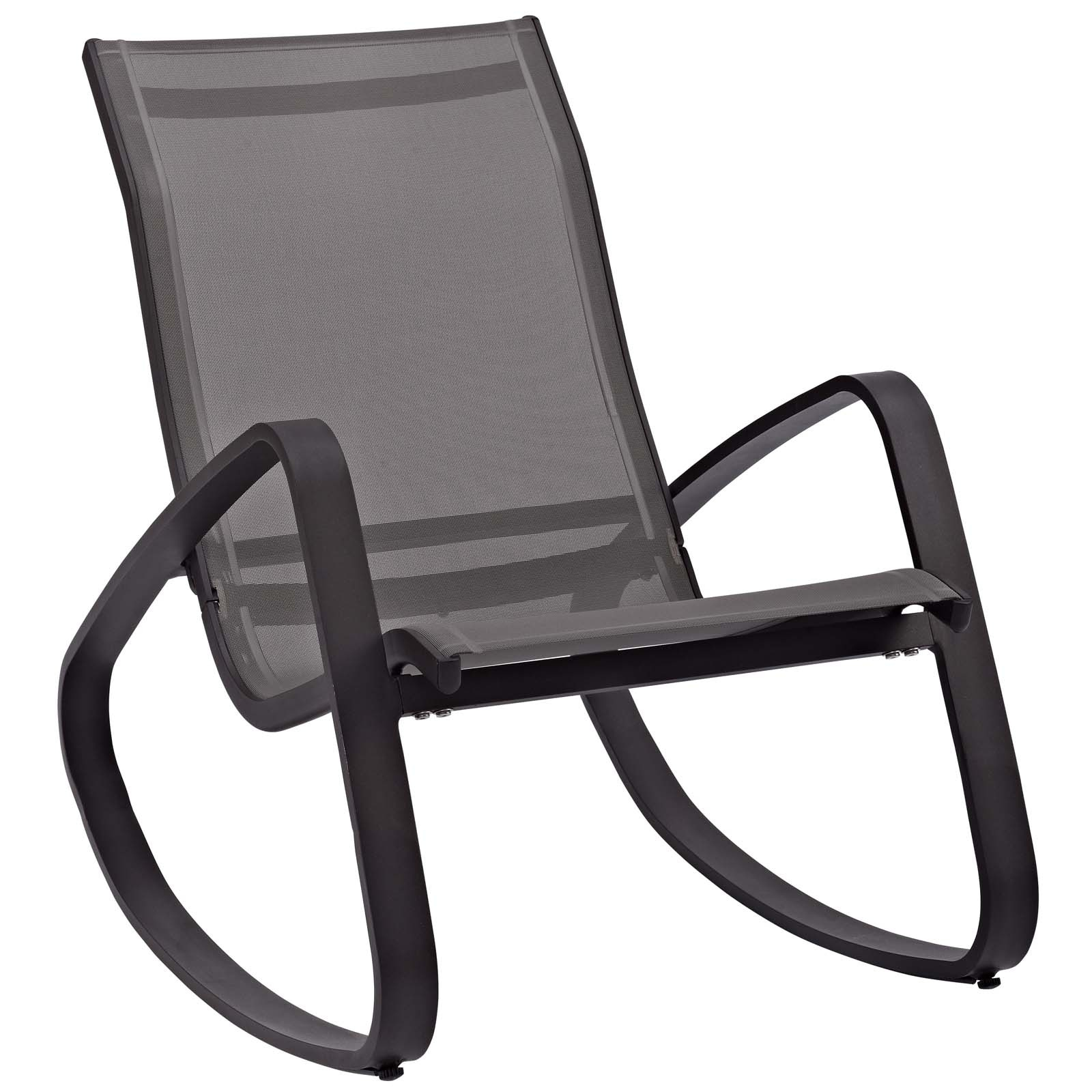 Picture of: Shop Black Friday Deals On Traveler Rocking Outdoor Patio Mesh Sling Lounge Chair On Sale Overstock 23534026