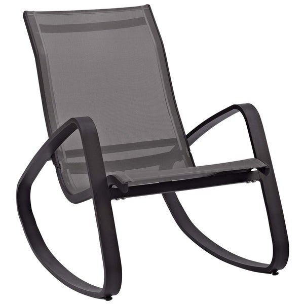 Traveler Rocking Outdoor Patio Mesh Sling Lounge Chair. Opens flyout.