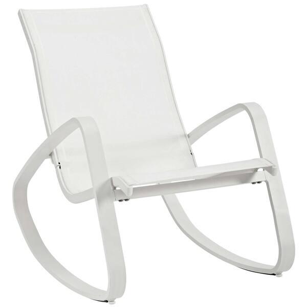 Excellent Shop Traveler Rocking Outdoor Patio Mesh Sling Lounge Chair Uwap Interior Chair Design Uwaporg