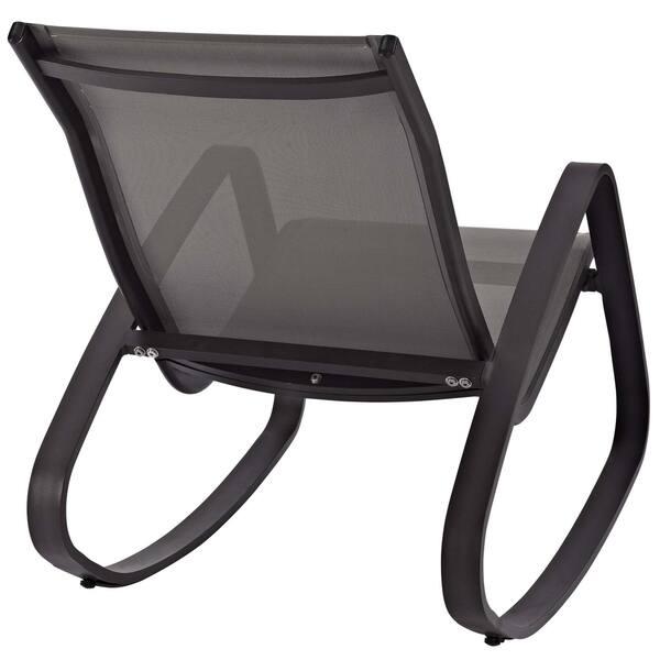 Awe Inspiring Shop Traveler Rocking Outdoor Patio Mesh Sling Lounge Chair Uwap Interior Chair Design Uwaporg