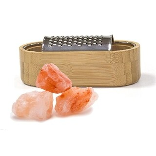 Himalayan Chef Grater Of Pink Salt Chunks, 9.05 Oz