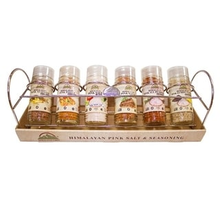 Link to Himalayan Chef Seasoning Glass Shaker-Standing Chrome Wire Rack, 6 Pieces-1.07 lbs Similar Items in Grocery