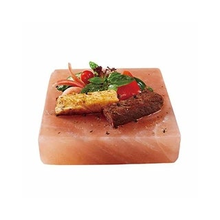 "Himalayan Chef Natural Crystal Salt cooking plate 8"" X 8"" X 2"", 10 lbs"