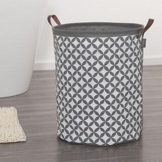 Sealskin Laundry Bag 16x20 Inch Diamonds Gray Fabric