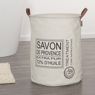 Link to Sealskin Laundry Bag 16x20 Inch  Savon De Provence Off-White Fabric Similar Items in Laundry
