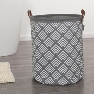 Sealskin Laundry Bag 16x20 Inch  Angoli Gray Fabric