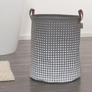 Sealskin Laundry Bag 16x20 Inch Speckles Gray Fabric