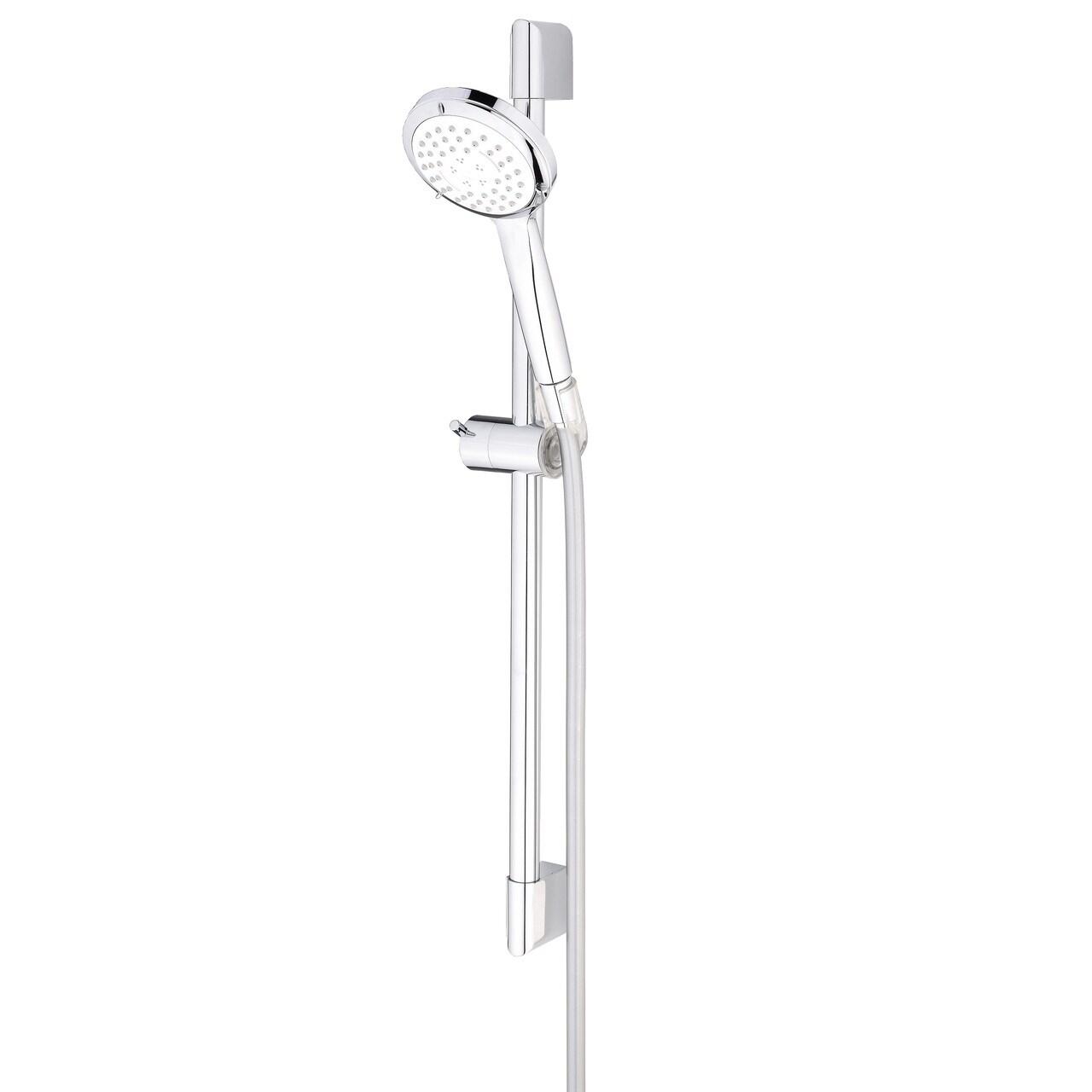 Delvac Massage Shower Head Kit 3 Spray Orta No 6 With Slide Bar
