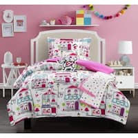 Chic Home Lego 5 Piece Quaint Town Theme Comforter Set