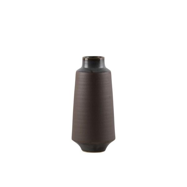 UTC59105: Ceramic Round Vase MD Matte Finish Brown