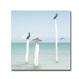 Sentries by Noah Bay Gallery Wrapped Canvas Giclee Art (30 in x 30 in, Ready to Hang)