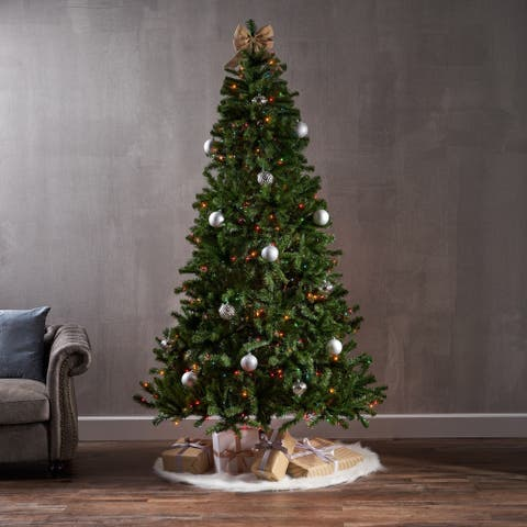 7.5' Noble Fir Artificial Christmas Tree by Christopher Knight Home
