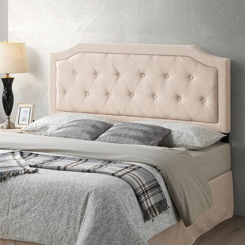 Poly and Bark Kensington Tufted Headboard, Queen Size