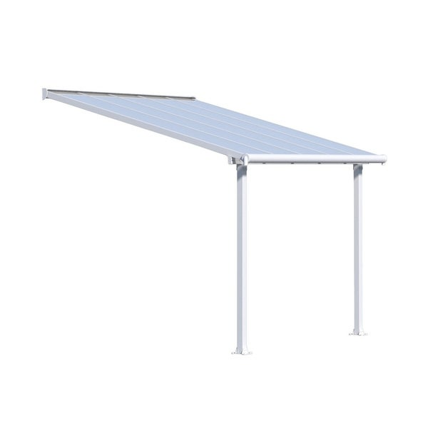 Shop Palram Olympia 10' x 8' Patio Cover with Twin Wall Roof