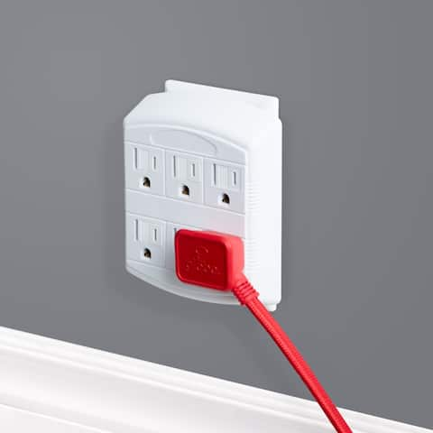 6-Outlet Multi-Tap Wall Tap