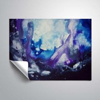 ArtWall Gems purple & blue Removable Wall Art Mural