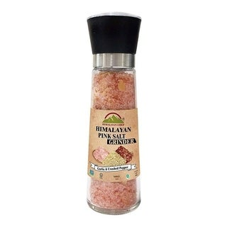 Himalayan Chef Roasted Garlic & Crushed Red Pepper Pink Salt, 11.50 Oz