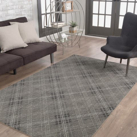Mohawk Home Russell Plaid Area Rug (5' x 8') - 5' x 8'