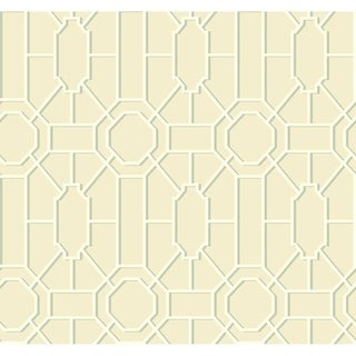 Dickinson Trellis Wallpaper 27 in. x 27 ft. 60.75 sq.ft.