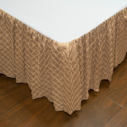 Austin Horn Classics Botticelli Brown Luxury Bed Skirt