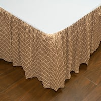 Austin Horn Classics Botticelli Brown Luxury Bed Skirt