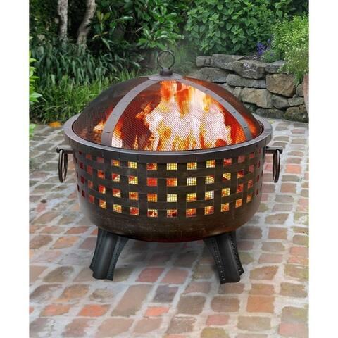 Garden Lights-Savannah Outdoor Fire Bowl