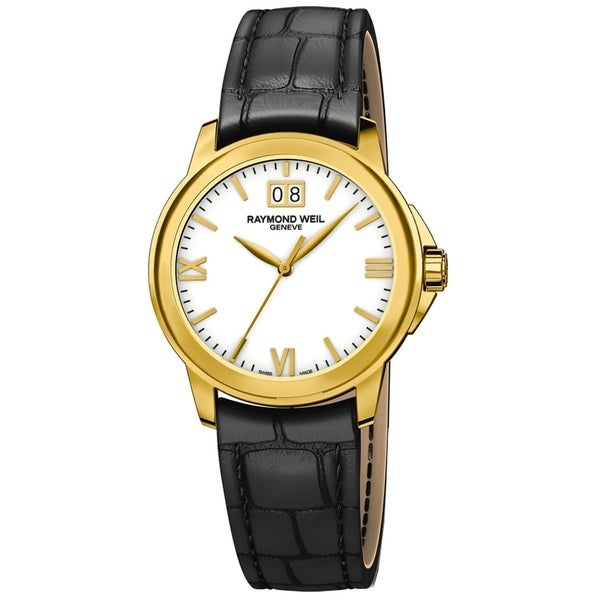 4a4d192e5f7 Shop Raymond Weil 5476-P-00307 Men s Tradition White Quartz Watch - Free  Shipping Today - Overstock - 23541113