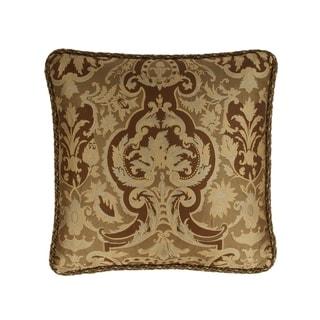 Austin Horn Classics Botticelli Brown 20-inch Luxury Pillow